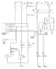 2002 ford mustang headlight wiring diagram