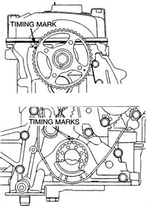 2002 mitsubishi lancer timing belt diagram