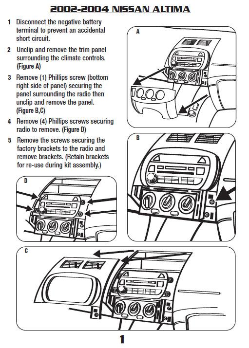 2002 Nissan Altima Radio Wiring Diagram