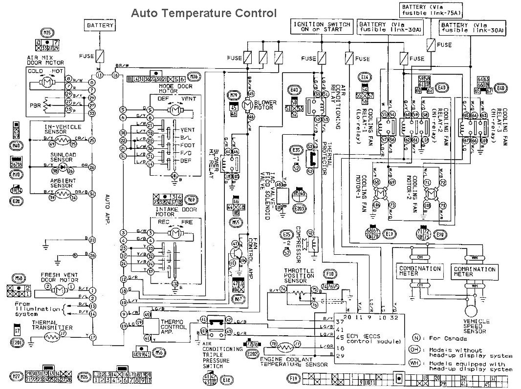 Nissan Sentra Fuse Box Diagram Wiring Library 2006 Mini Cooper Radiator Fan 1996 Pickup Schematics Diagrams U2022 Rh Parntesis Co