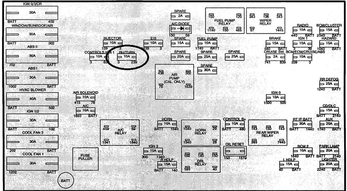 saturn l200 fuse diagram saturn wiring diagrams