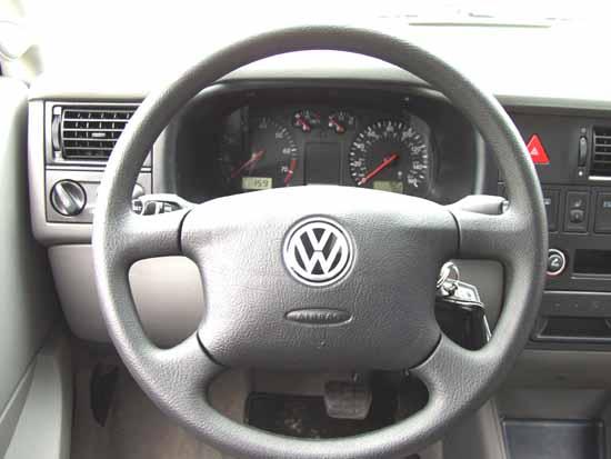 2002 Volkswagen Eurovan Interior