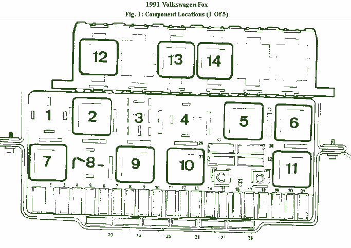 2002 VW Jetta Fuse Box Diagram - image details  Vw Jetta Fuse Box Diagram on