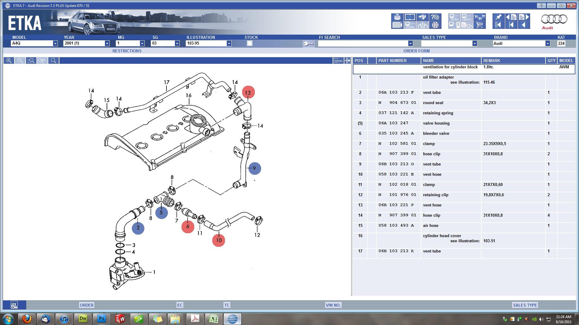 2002 vw passat 1 8t pcv diagram image details vw passat 1.8t engine diagram  2002