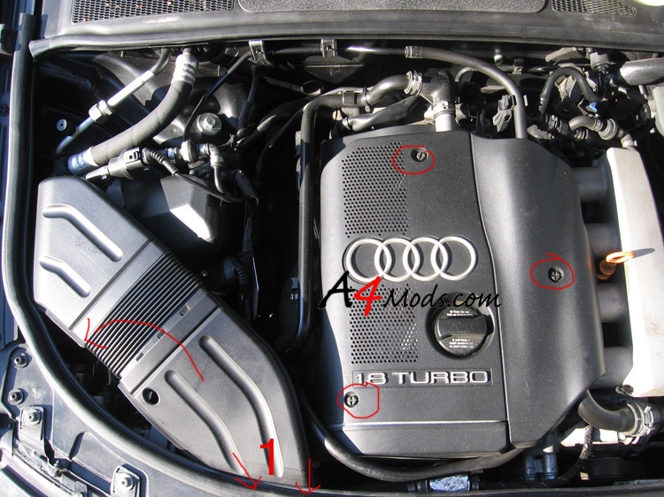 2003 Audi A4 Air Filter
