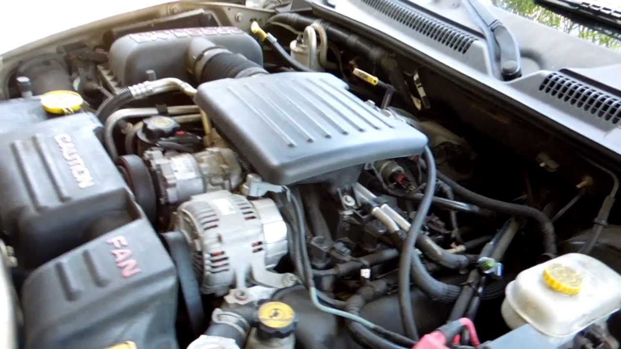2003 Dodge Durango 4.7 Engine Diagram