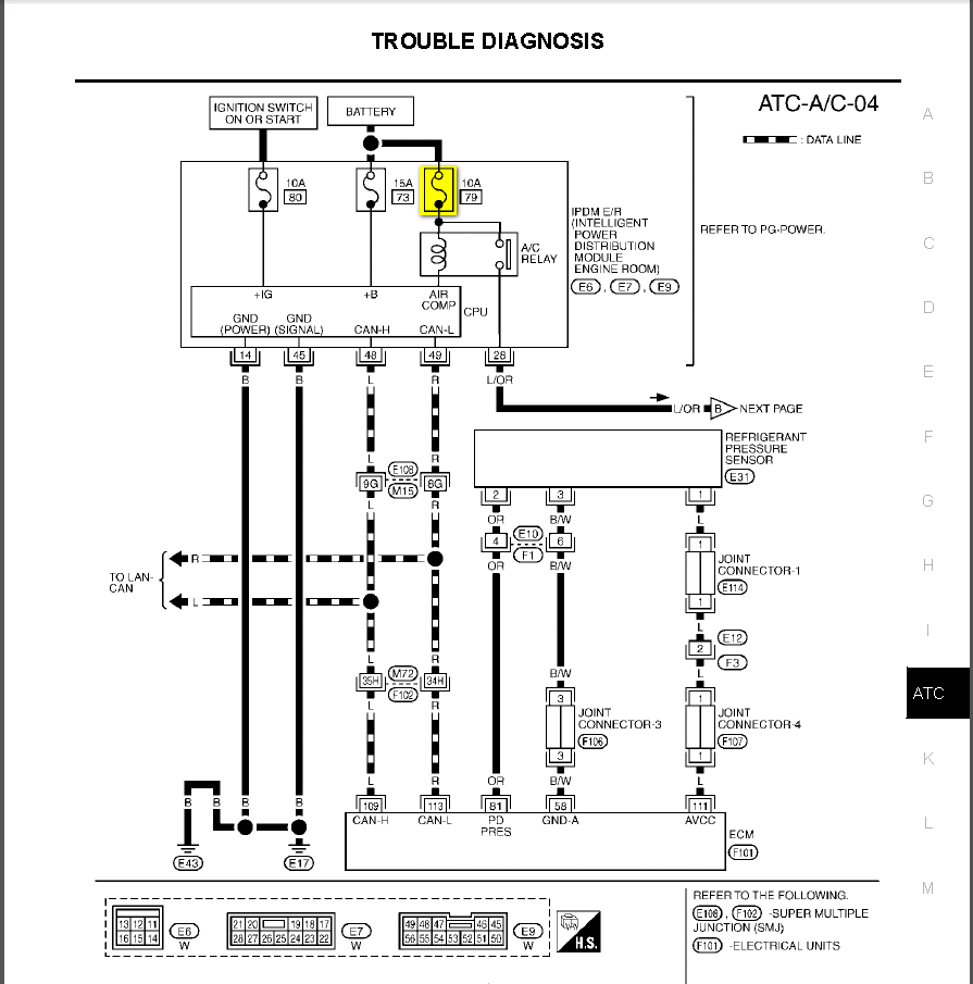 Infiniti Qx56 Fuse Diagram Another Blog About Wiring 2003 I35 Box M35 2006 2004