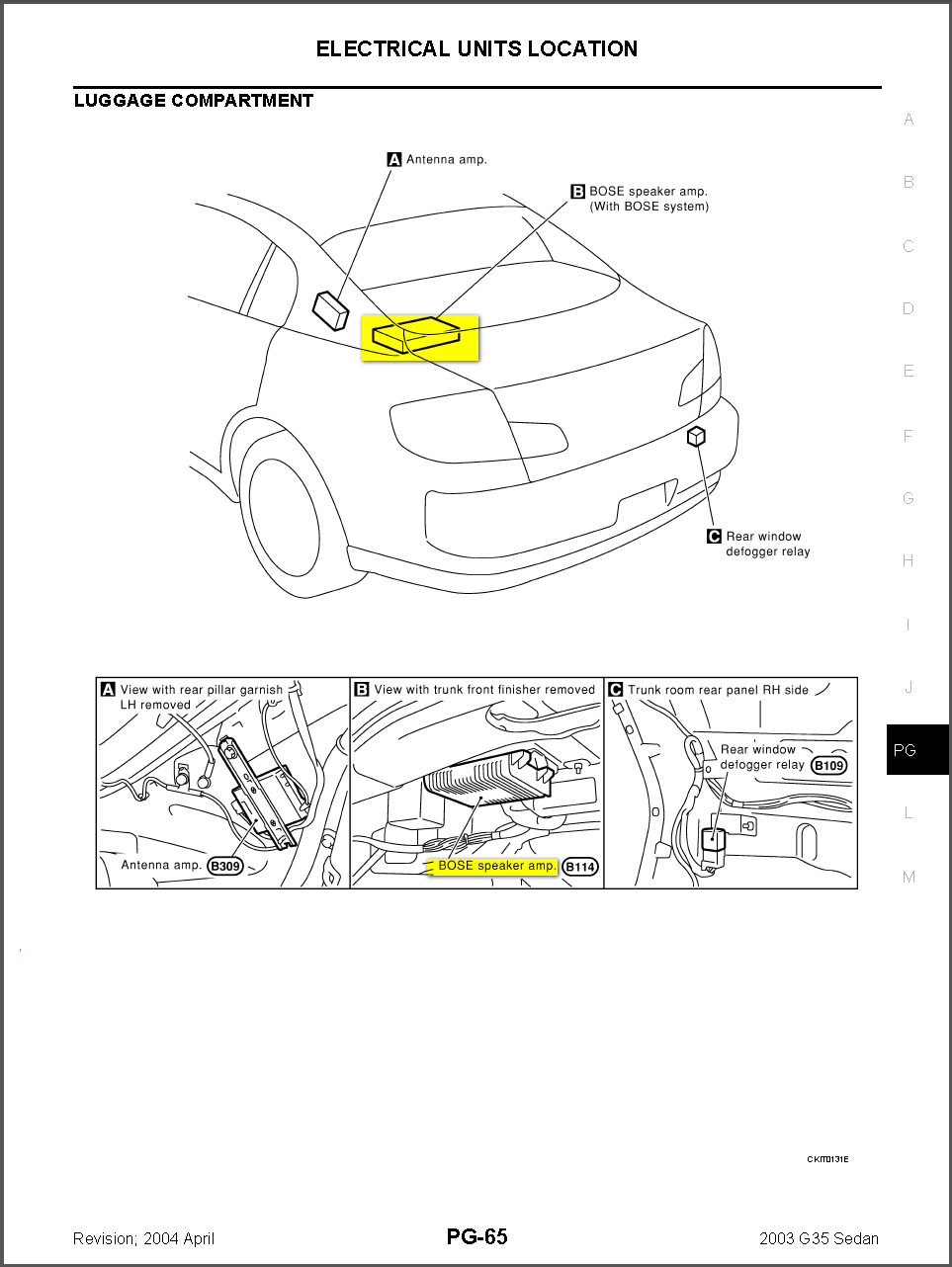 2003 infiniti g35 sedan wiring diagram - wiring diagram 2006 infiniti g35 fuse box location g35 fuse diagram #15