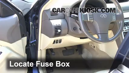 2003 Infiniti G35 Fuse Box Location