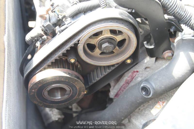how to fix crankshaft sensor on a range rover lr2