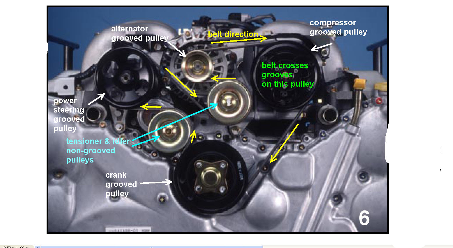 2003 Toyota Camry Drive Belt Replacement