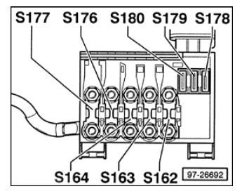 2003 Volkswagen Jetta Fuse Box Diagram
