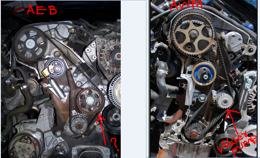 2004 Audi A4 1 8t Timing Belt Replacement Image Details