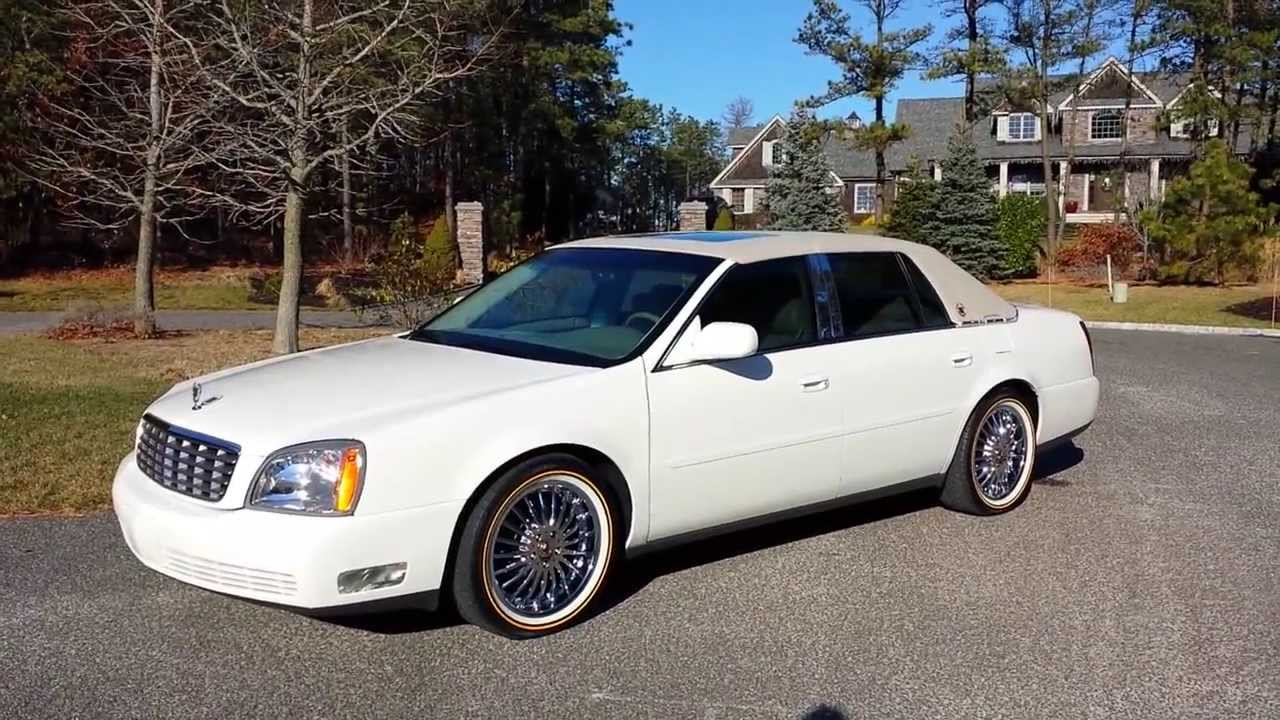 2004 Cadillac DeVille with Rims