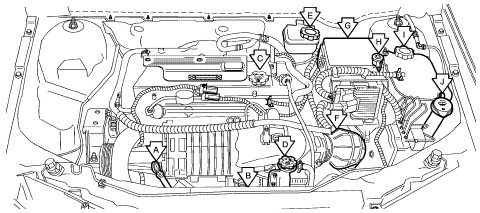 volvo s60 engine bay diagram manual e books Volvo S40 Engine Diagram volvo s60 engine bay diagram