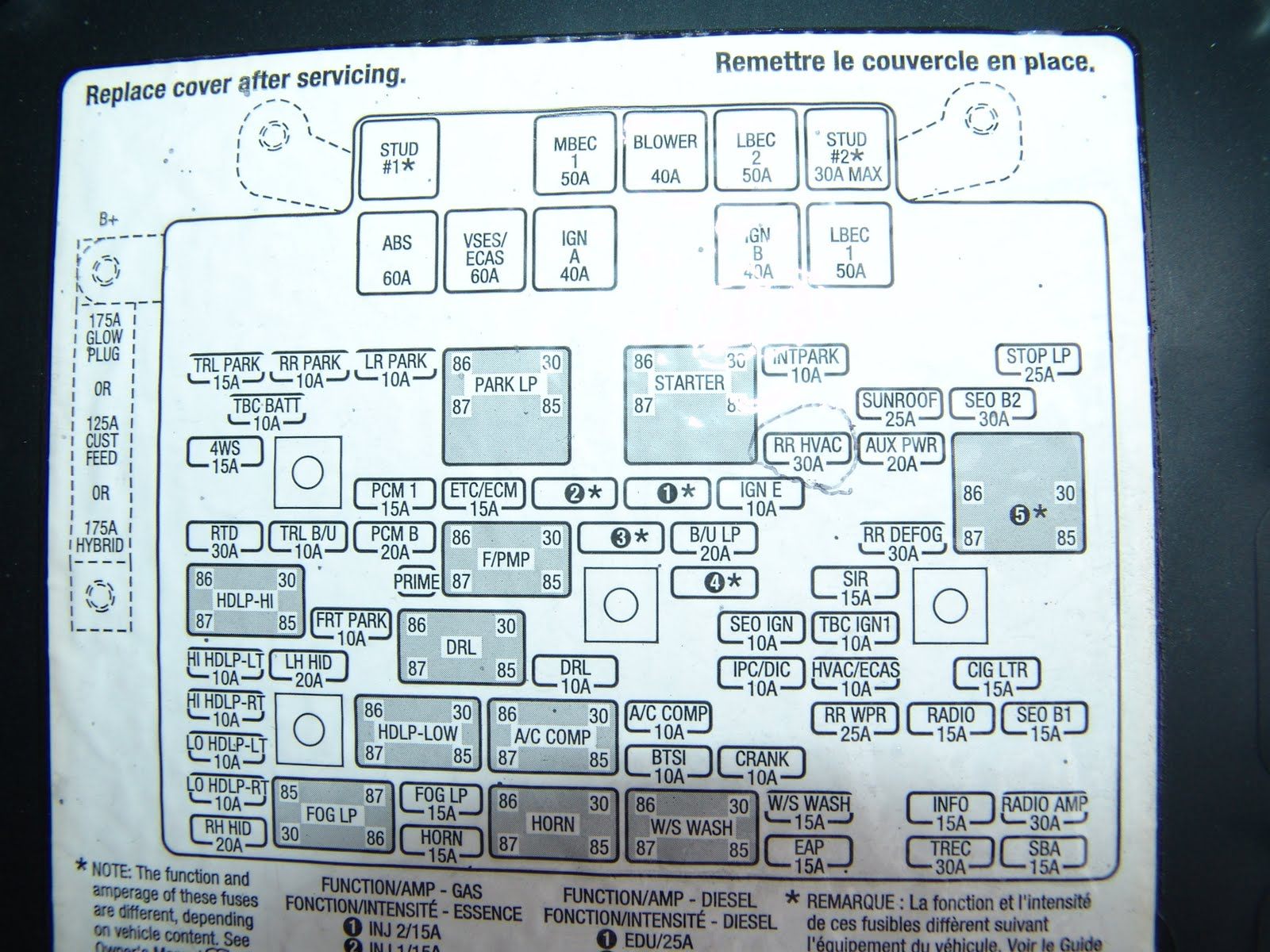 04 tahoe fuse box automotive wiring diagram library u2022 rh seigokanengland co uk 2004 chevrolet tahoe fuse box diagram 2004 chevrolet tahoe fuse box diagram