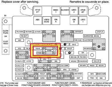 2004 chevy tahoe fuse box diagram image details 2004 chevy tahoe fuse box location