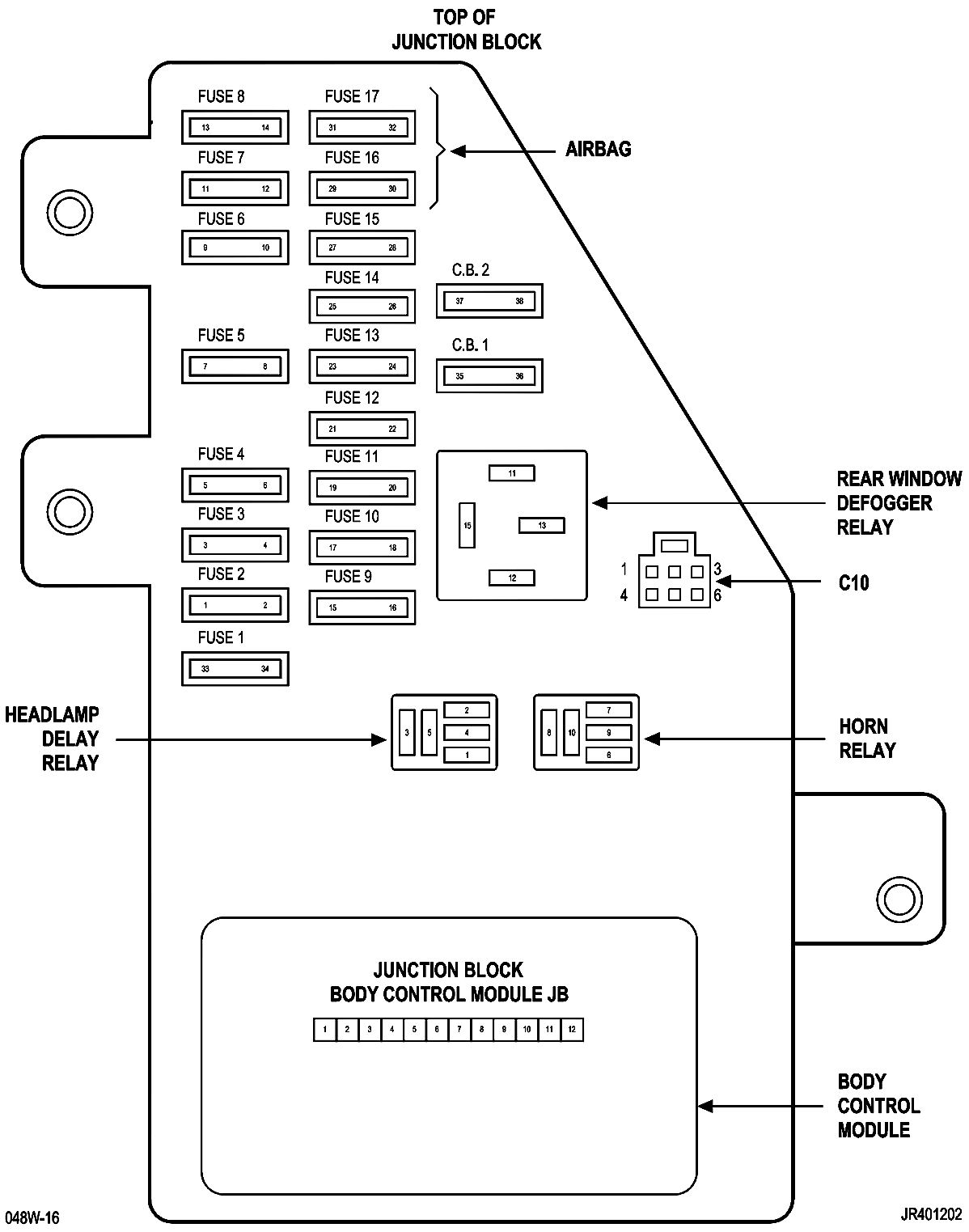 2004 chrysler sebring convertible fuse box wiring block diagram