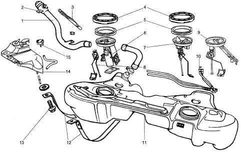2004 Dodge Ram 1500 Fuel Tank Diagram - Wiring Diagram Source
