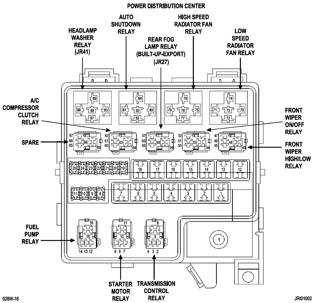 2004 Dodge Stratus Fuse Box Automotive Wiring Diagrams 1989 Dakota Diagram Image Details