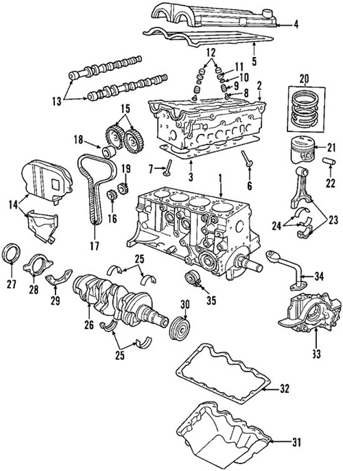 2004 ford escape engine diagram
