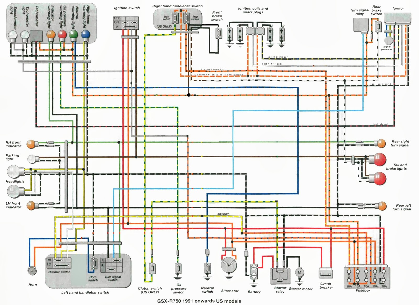 gsxr 750 wiring diagram gsxr image wiring diagram suzuki gsx r 600 wiring diagram suzuki printable wiring on gsxr 750 wiring diagram