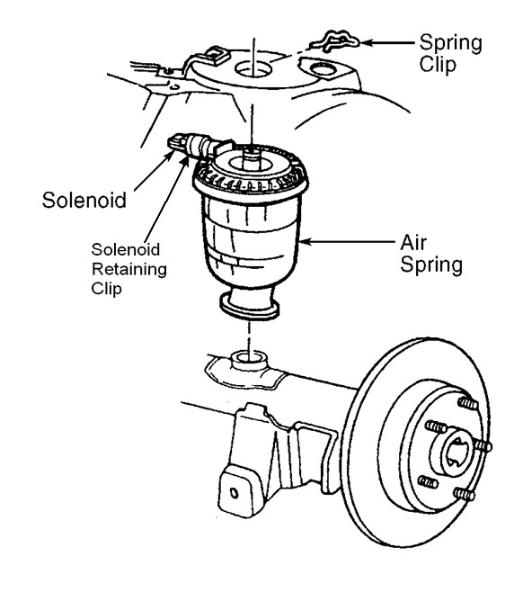 Mercury Air Suspension Diagram