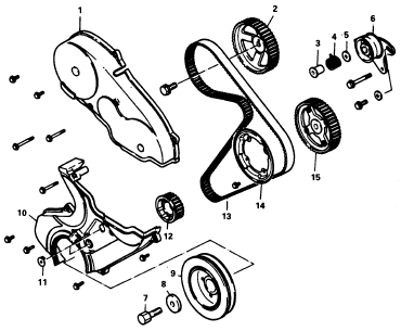 2004 Mitsubishi Galant Timing Belt Diagram