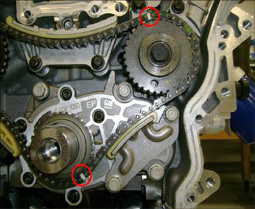 2004 Nissan Maxima Timing Chain Tensioner Image Details