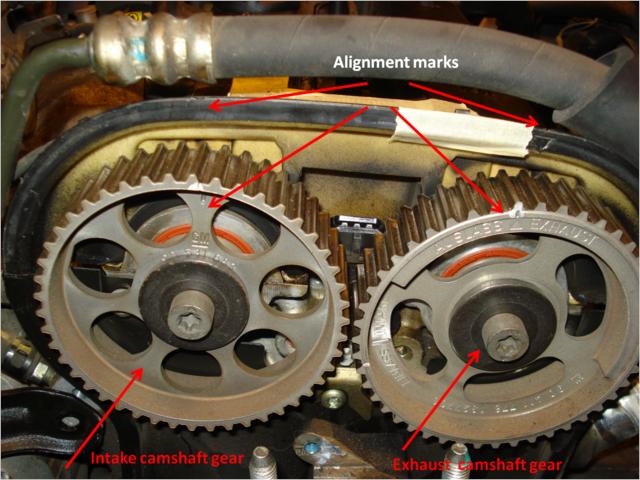 2004 Suzuki Forenza Timing Belt