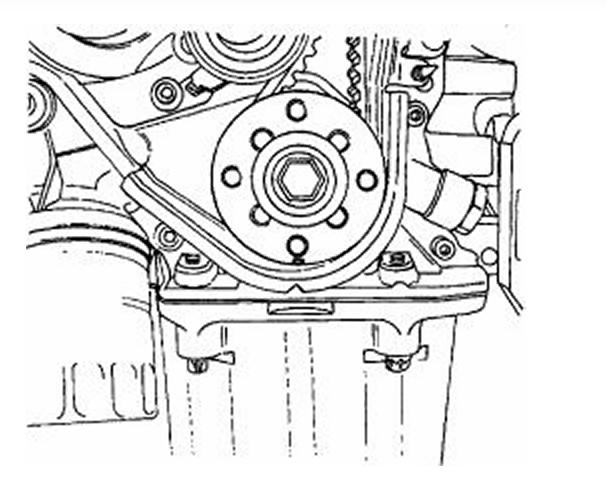 Suzuki Quadrunner Timing Marks