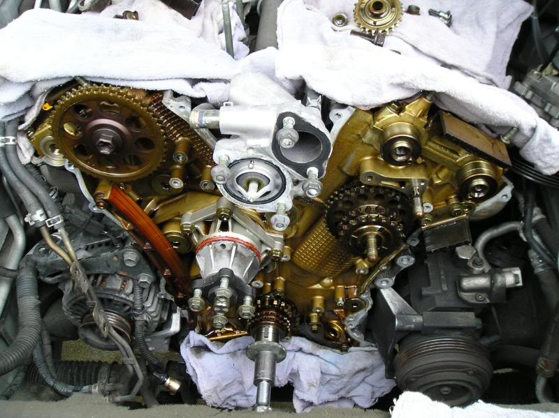 2004 Suzuki XL7 Water Pump