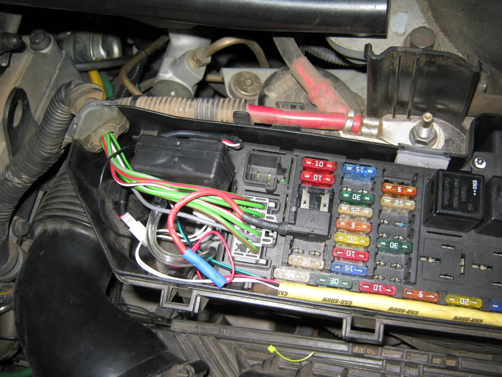 2004 Volvo S40 Fuse Box Diagram