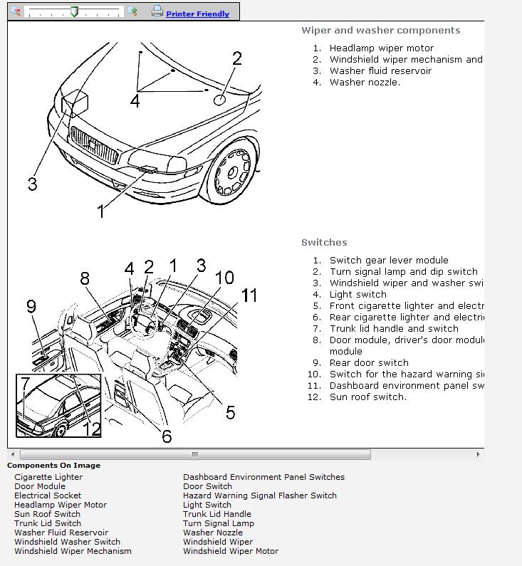 2004 Volkswagen Touareg Fuel Pump Location - image details