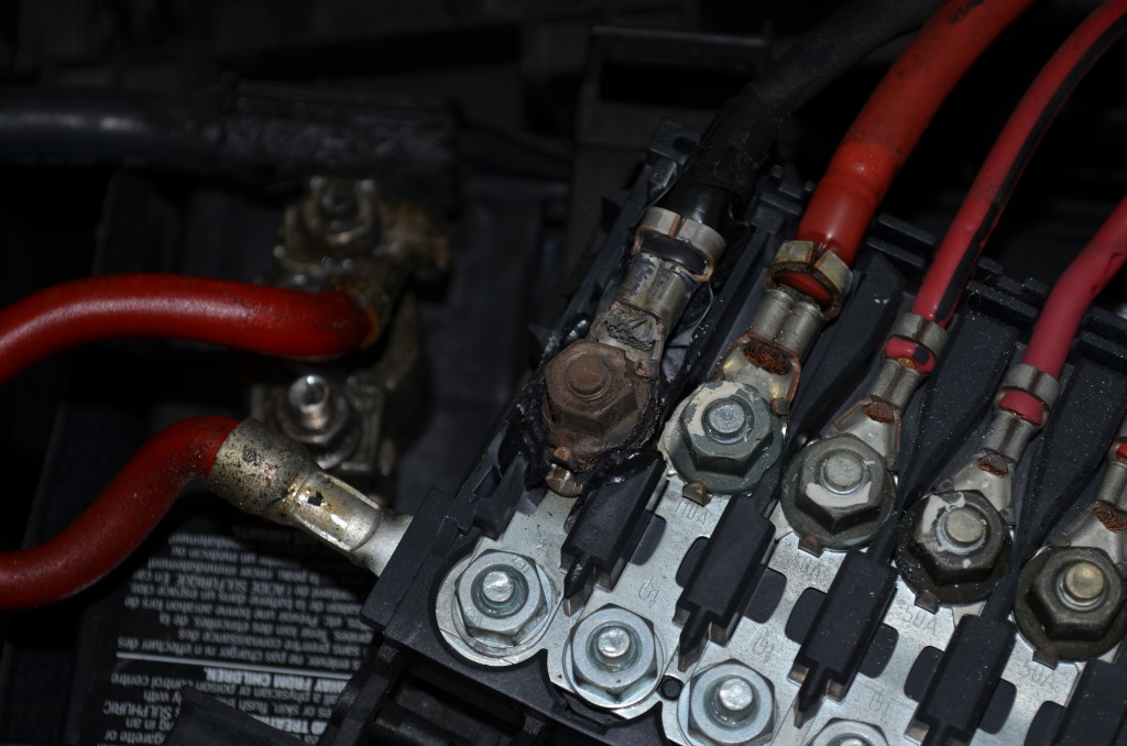 2004 VW Jetta Alternator Fuse