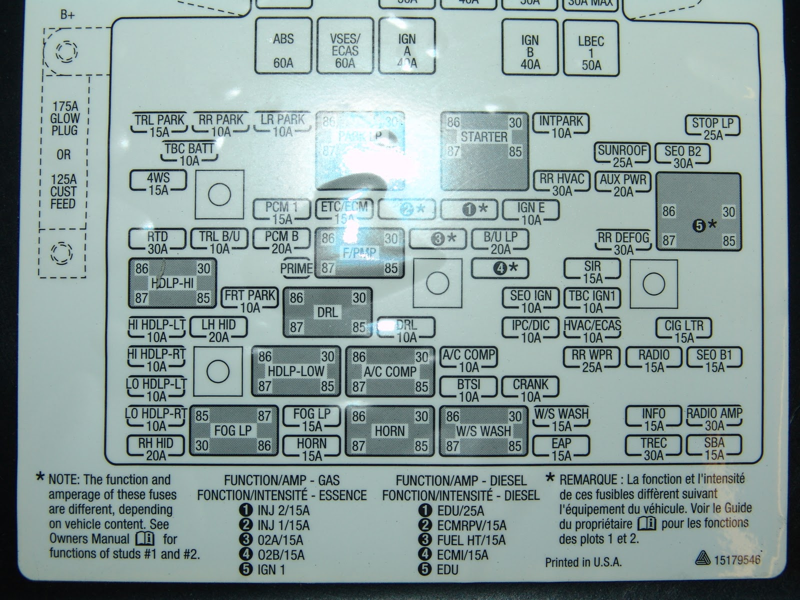 1999 Silverado Fuse Diagram Wiring Library 99 Suburban Box Panel For 2005 Chevy Aveo Image Details