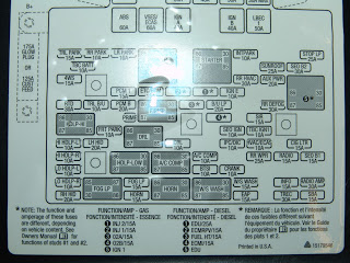 chevy suburban fuse box diagram image details 2005 chevy suburban fuse panel diagram