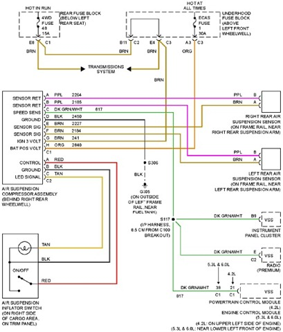 1997 chevy cavalier radio wiring diagram image details 2005 chevy trailblazer radio wiring diagram