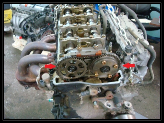 2005 Honda Civic Timing Chain
