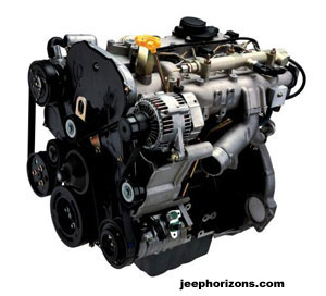 2005 Jeep Liberty Diesel Engine