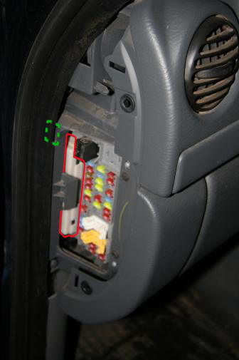 2005 Jeep Liberty Fuse Box Location
