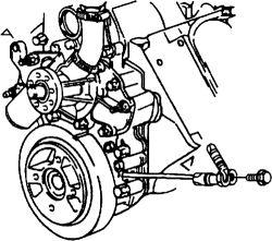 2005 Kia Sorento Crankshaft Sensor Location