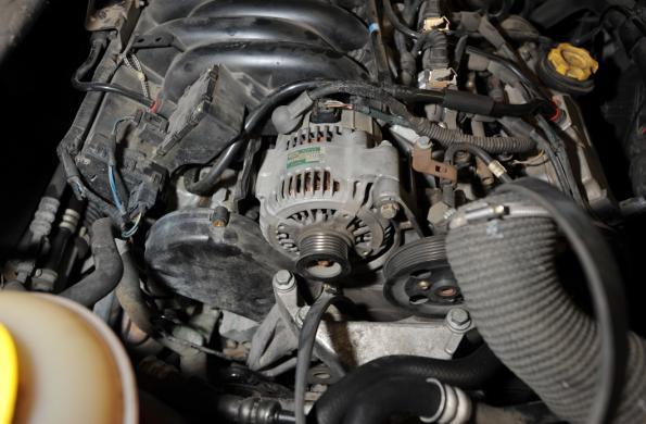 2005 Land Rover Freelander Engine Timing Belt Tensioner Front