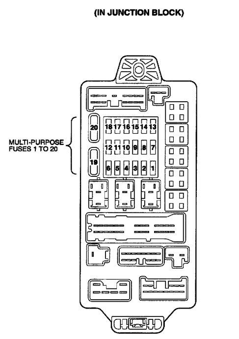 2003 Mitsubishi Montero Fuse Box Diagram - Wiring Diagram Review on