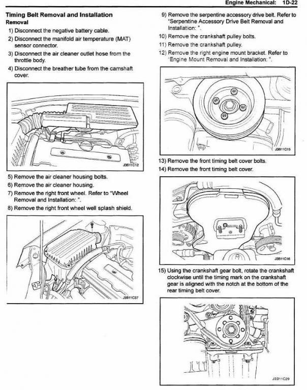 2004 suzuki forenza timing belt diagram image details