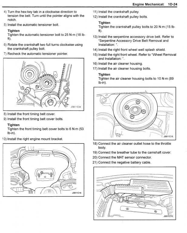 Suzuki Forenza Tire Specs