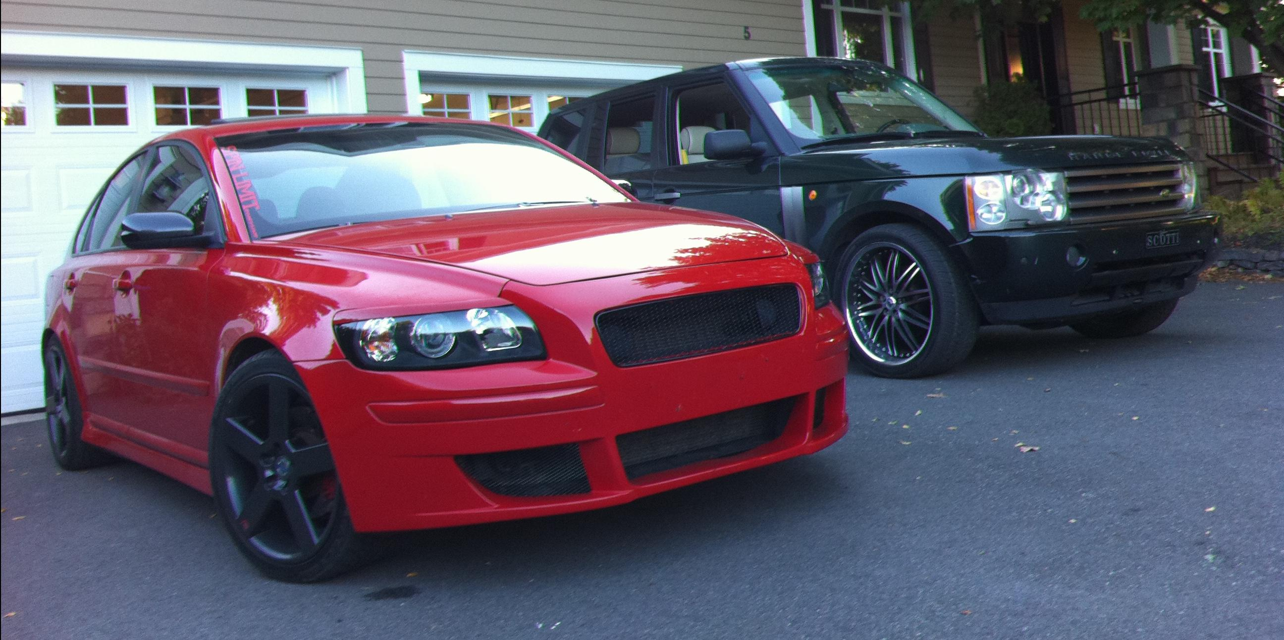 2005 Volvo S40 Red