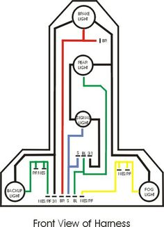 2000 mitsubishi eclipse wiring harness diagram mitsubishi starion wiring harness diagram #1