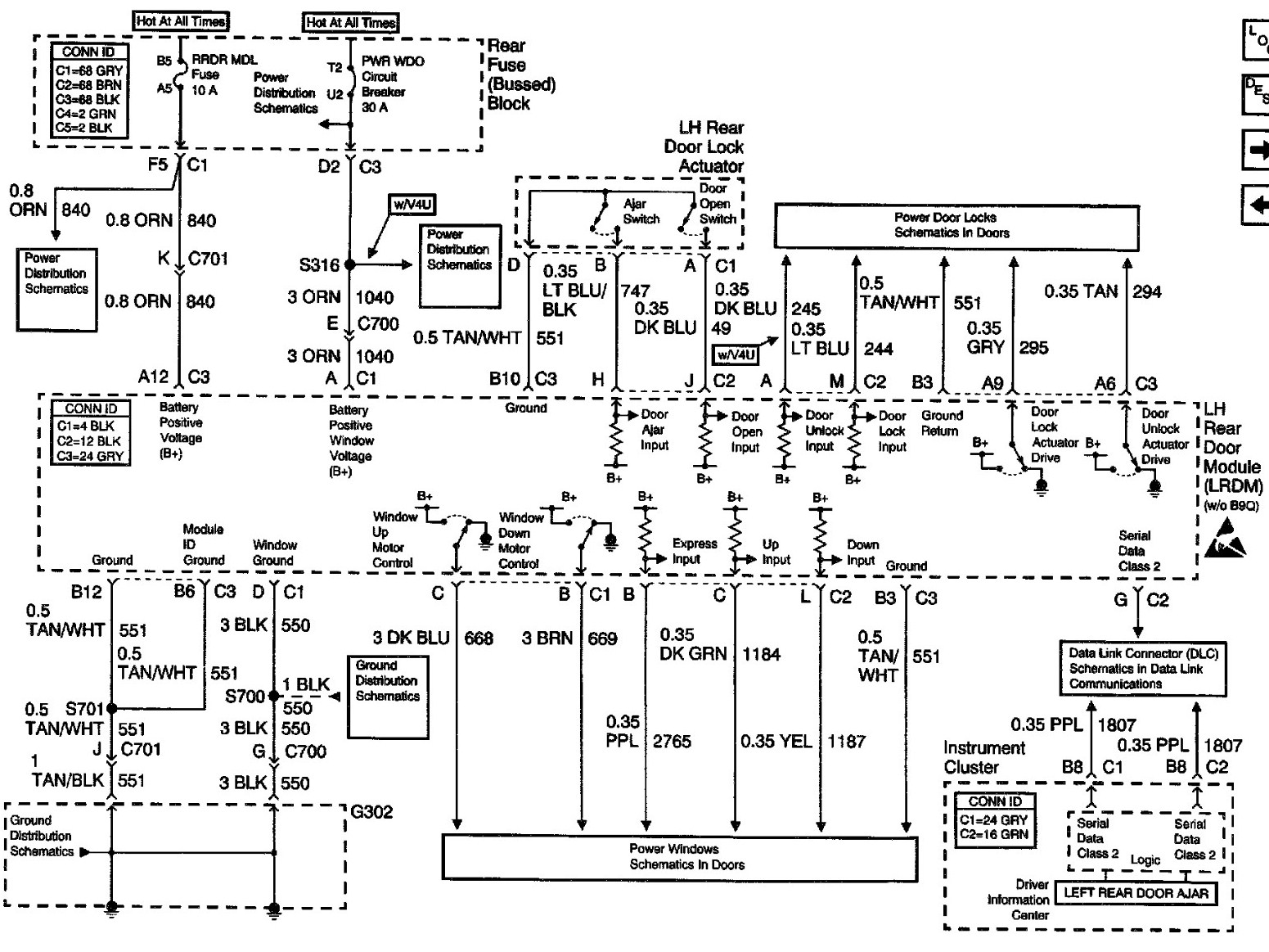 C066 Cadillac Models Fuse Box Diagram | Wiring LibraryWiring Library
