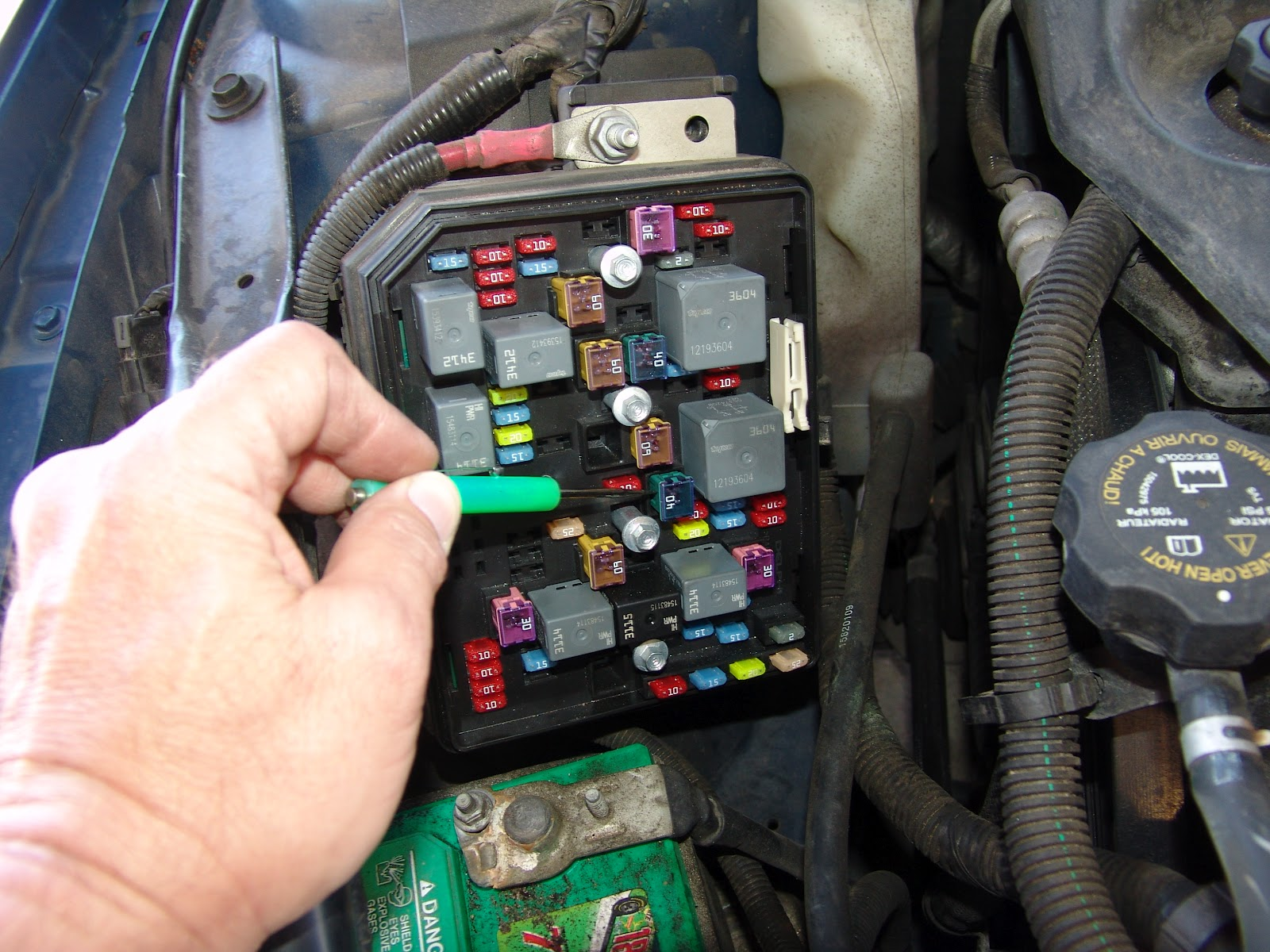 2006 Chevy Impala Power Window Fuse
